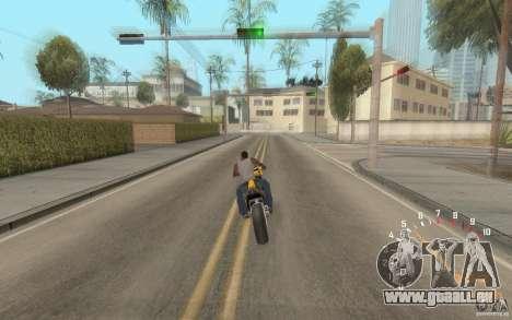 Digital speedometer and tachometer für GTA San Andreas zweiten Screenshot