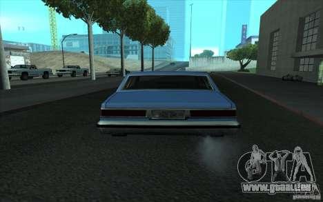 Civilian Police Car LV pour GTA San Andreas vue de côté