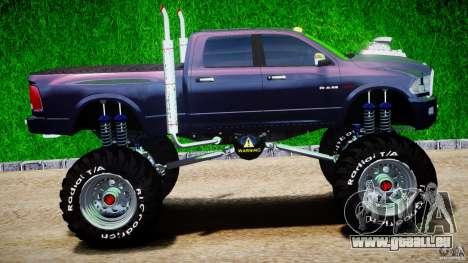 Dodge Ram 3500 2010 Monster Bigfut für GTA 4 Innenansicht