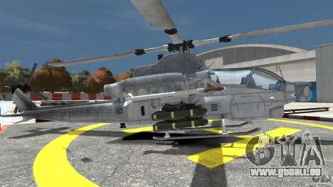 Bell AH-1Z Viper pour GTA 4 est une gauche
