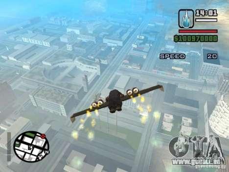 Jetwing Mod für GTA San Andreas siebten Screenshot