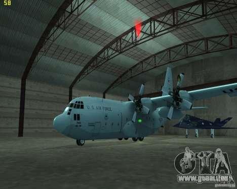 C-130 hercules pour GTA San Andreas