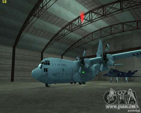 C-130 hercules für GTA San Andreas