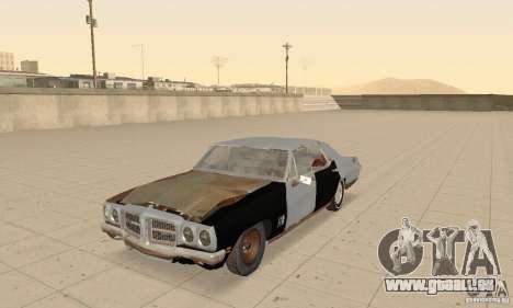 Pontiac LeMans 1970 Scrap Yard Edition für GTA San Andreas Innenansicht