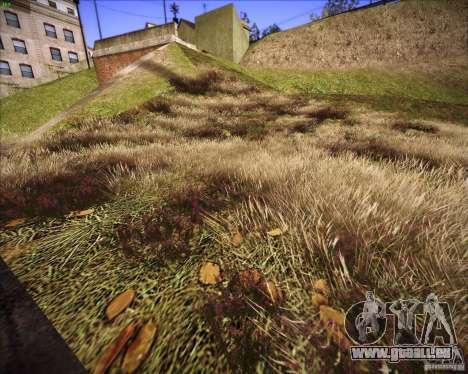 Grass form Sniper Ghost Warrior 2 pour GTA San Andreas cinquième écran