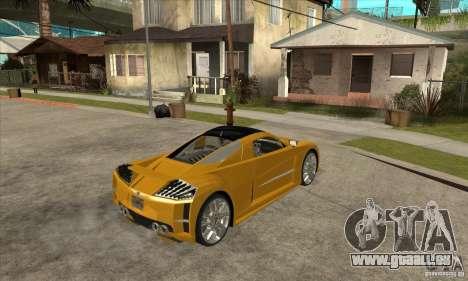 Chrysler ME Four-Twelve Concept für GTA San Andreas rechten Ansicht