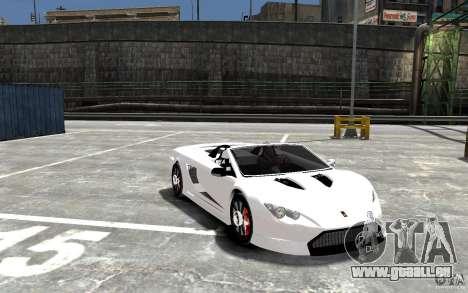K1 Attack Concept für GTA 4 Rückansicht