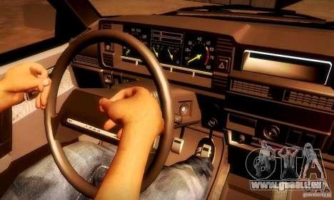 VAZ 2108 v2.0 pour GTA San Andreas sur la vue arrière gauche