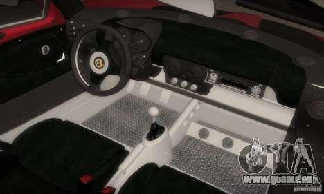Lotus Elise 111s 2005 v1.0 für GTA San Andreas Innen