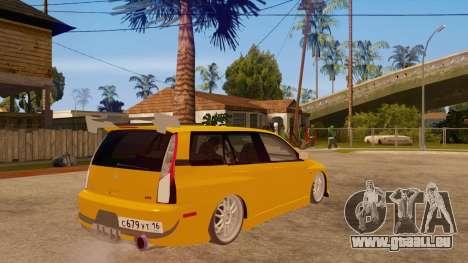 Mitsubishi Lancer Evolution IX Wagon MR Drift pour GTA San Andreas vue de droite