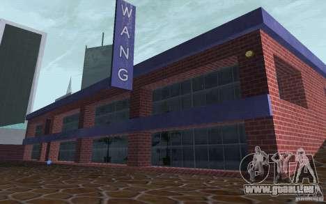 Neue Autohändler Wang Cars für GTA San Andreas