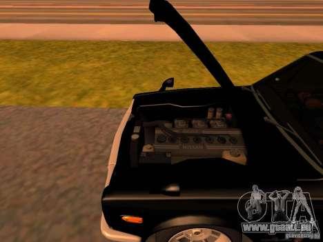 Nissan Skyline 2000GTR pour GTA San Andreas vue intérieure