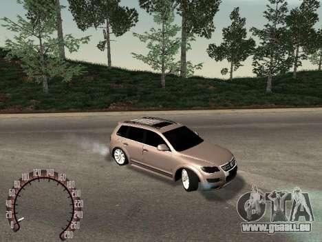 Volkswagen Touareg für GTA San Andreas rechten Ansicht