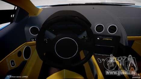 Lamborghini Reventon Polizia Italiana pour GTA 4 Vue arrière