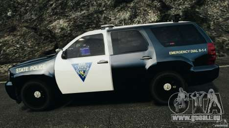 Chevrolet Tahoe Marked Unit [ELS] für GTA 4 Unteransicht