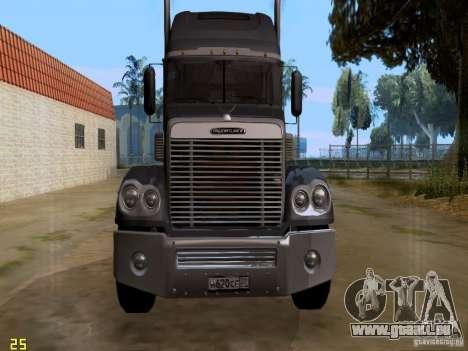 Freightliner Coronado pour GTA San Andreas laissé vue