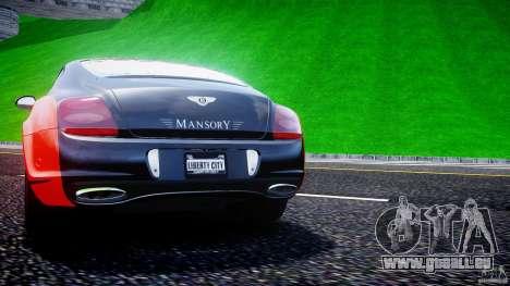 Bentley Continental SS 2010 Le Mansory [EPM] pour GTA 4 roues