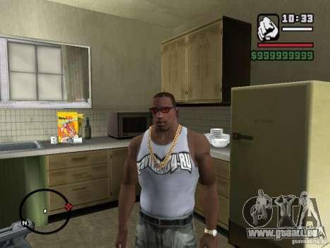 T-Shirt mit Logo unserer geliebten Website für GTA San Andreas zweiten Screenshot