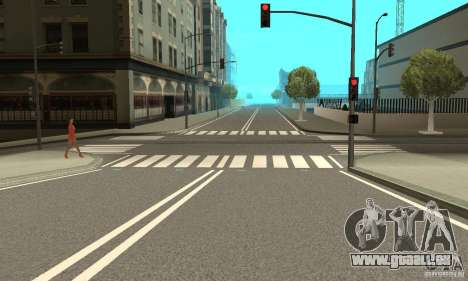 New Streets v2 pour GTA San Andreas
