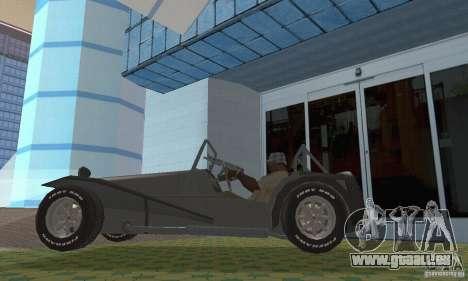 Lotus Seven pour GTA San Andreas vue de droite