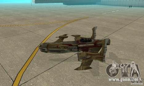 Hydra TimeShift Skin 1 pour GTA San Andreas sur la vue arrière gauche
