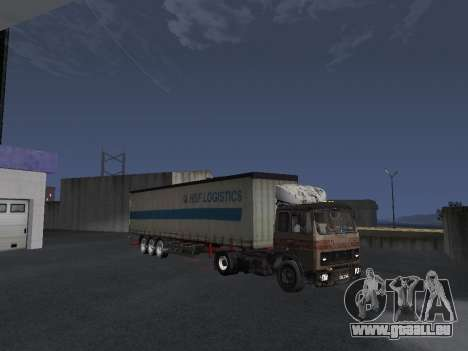 Kolkhoze MAZ 5551 pour GTA San Andreas vue de dessous