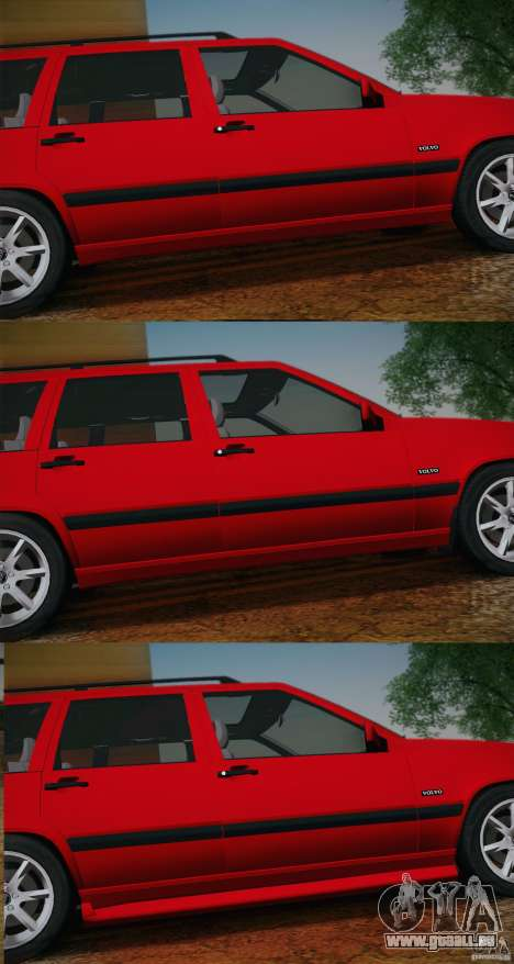 Volvo 850 Estate Turbo 1994 für GTA San Andreas Innenansicht