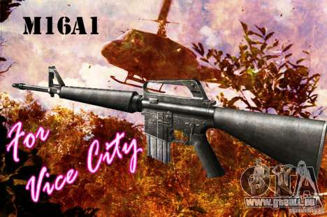 M16A1 für GTA Vice City
