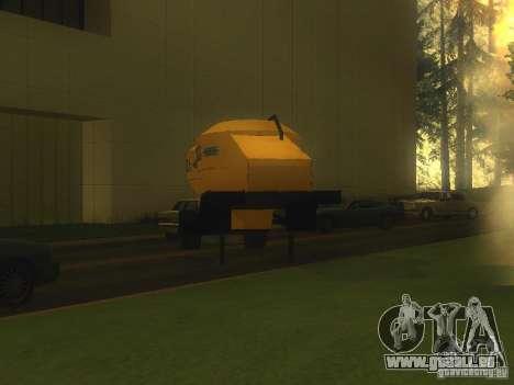 Mukovoz K4-AMG-trailer für GTA San Andreas rechten Ansicht