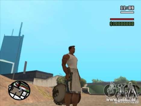 TOMSON pour GTA San Andreas troisième écran