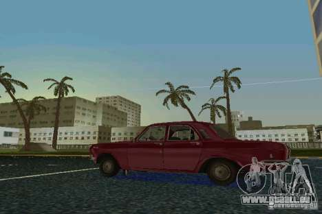 GAZ Volga 24 pour une vue GTA Vice City de la droite