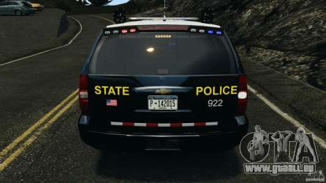 Chevrolet Tahoe Marked Unit [ELS] pour le moteur de GTA 4