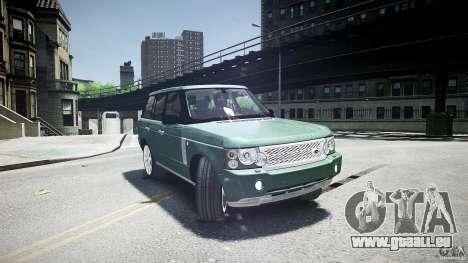 Range Rover Supercharged v1.0 für GTA 4 Seitenansicht