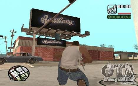 Un Paint Shop West Coast Customs pour GTA San Andreas troisième écran