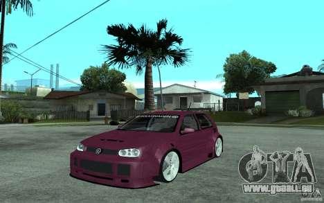 Volkswagen Golf GTI 4 Tuning pour GTA San Andreas