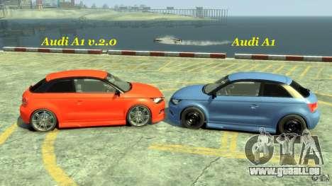 Audi A1 pour GTA 4 est un côté