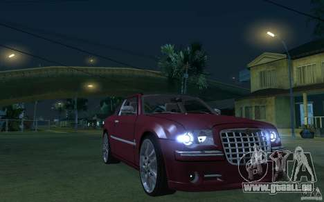 Chrysler 300c Roadster Part2 für GTA San Andreas Rückansicht