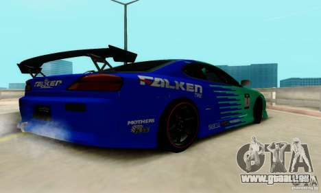 Nissan Silvia S15 Tunable pour GTA San Andreas vue de dessus