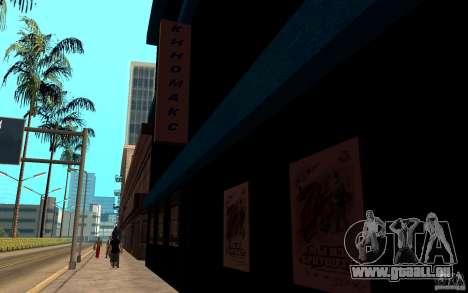 Cinéma Kinomaks. pour GTA San Andreas deuxième écran