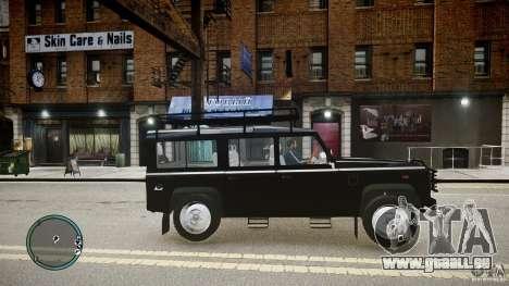 Land Rover Defender pour GTA 4 est une gauche