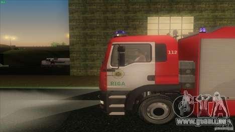 MAn TGL Riga FC pour GTA San Andreas laissé vue