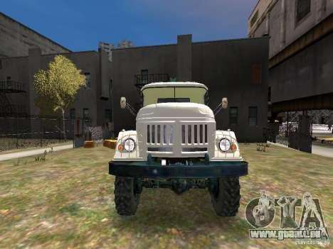 ZIL 131 für GTA 4 obere Ansicht