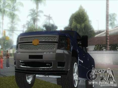 Chevrolet Silverado 1500 pour GTA San Andreas vue arrière