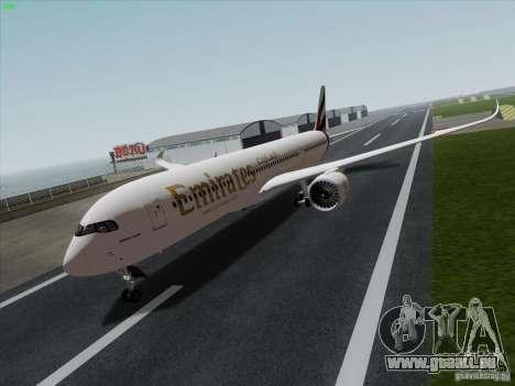 Airbus A350-900 Emirates für GTA San Andreas
