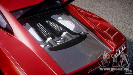 Lamborghini Gallardo LP570-4 Superleggera 2011 pour GTA 4 vue de dessus