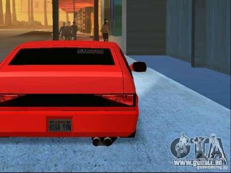 New Blistac für GTA San Andreas Unteransicht