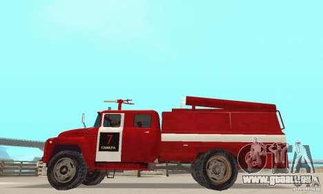 Incendie ZIL-130 pour GTA San Andreas laissé vue