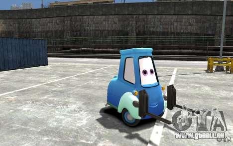 Guido de Cars Mater-National pour GTA 4 Vue arrière