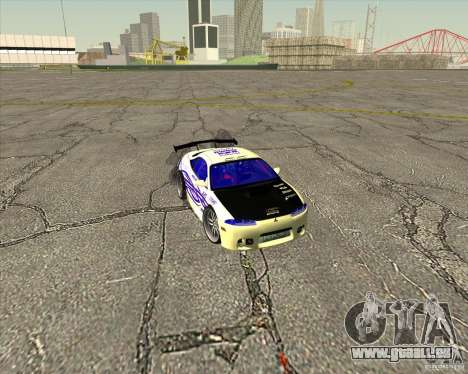 Mitsubishi Eclipse street tuning für GTA San Andreas Innen