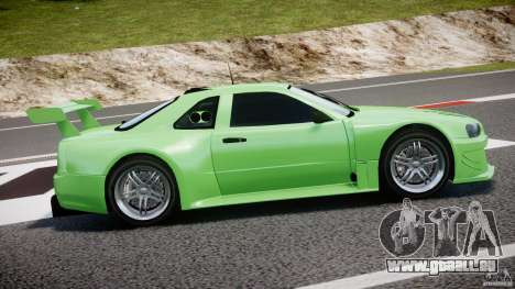Nissan Skyline R34 v1.0 pour GTA 4 vue de dessus